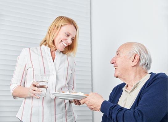 Versogen eines Patienten vom Pflegedienst High Care in Kamen.